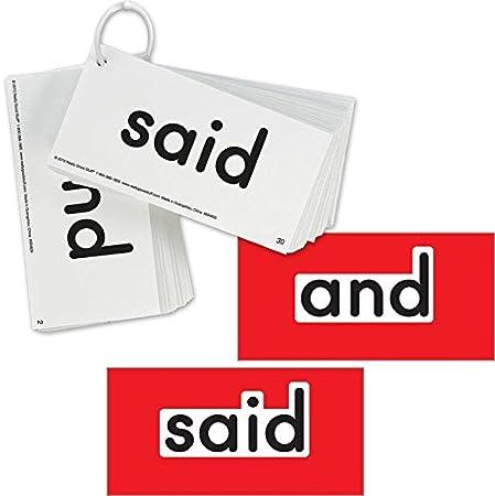 52 Laminated Dolch Primer Kindergarten sight word flashcards
