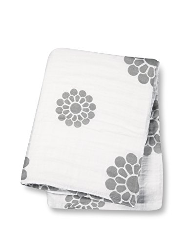 Lulujo Baby Designer Collection Cotton Muslin Swaddle