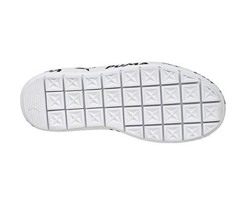 Trace White Baskets Platform Mode Noir Puma Femme FTP4w5aq