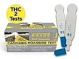 Cannabis Roadside THC Saliva Test (Marijuana) 2-Pack