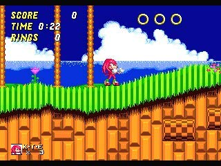 Knuckles The Echidna In Sonic The Hedgehog 2 16 Bit Md Game Card For 16 Bit Sega Megadrive Genesis Game Console JAP Shell