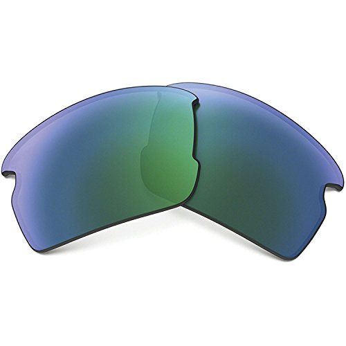 Oakley 101-355-008 Unisex Flak 2.0 Replacement Lens, Jade Iridium