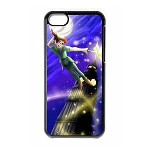 iPhone 5c Cell Phone Case Black Peter Pan uhye