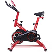 Bicicleta Regulable Ciclo Indoor Dragon One con Volante de inercia de 15 kg Rojo