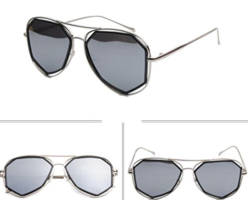 Street Lady Sol Ocean Gafas Sunglasses Plateado MSNHMU Travel Party De Oqw0ttUB