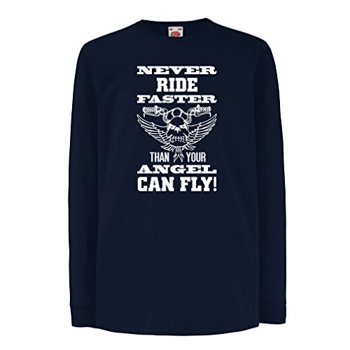 funny-t-shirts-for-kids-long-sleeve-the-rider-and-the-angel-art-motorcycle-apparel-3-4-years-blue-mu