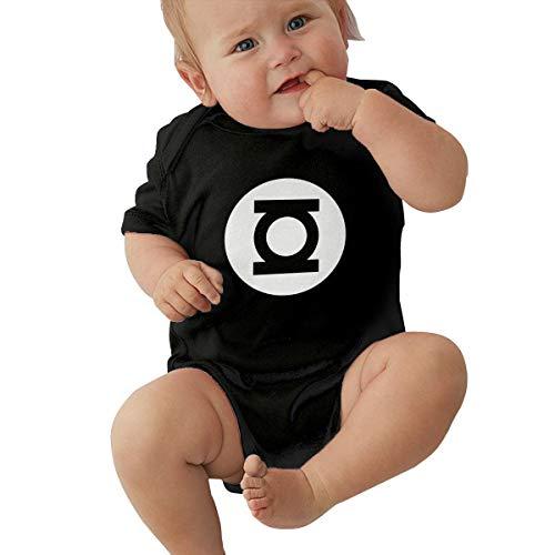 Green Lantern Onesie Adults (Jimdodo Baby Green LAN-Tern Mens Big Bang Theory Onesies Bodysuits Cotton)
