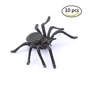 prank plastic spiders