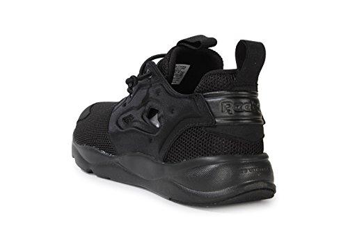 Reebok Furylite - Zapatillas de deporte, Niños Negro (Black / Black / Black)