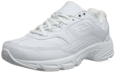 Fila Women's Memory Workshift Training Shoe,White/White/White,5.5 W US
