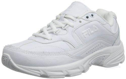 Fila Women's Memory Workshift Training Shoe,White/White/White,9 W US (Womens Memory Fila)