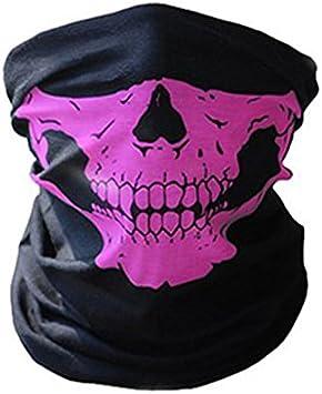 Máscara 3D de calavera para el cuello, cálida, de cara completa ...