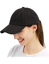 2e790e6e6b266 Unisex Vintage Baseball Cap Cotton Dad Hat Low Profile Snapback Adjustable