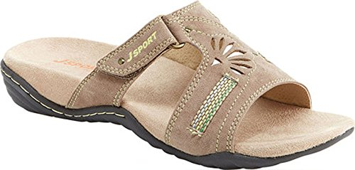 by Claudia Sandal Slide JSport Taupe Women's Jambu AqXnSx5x