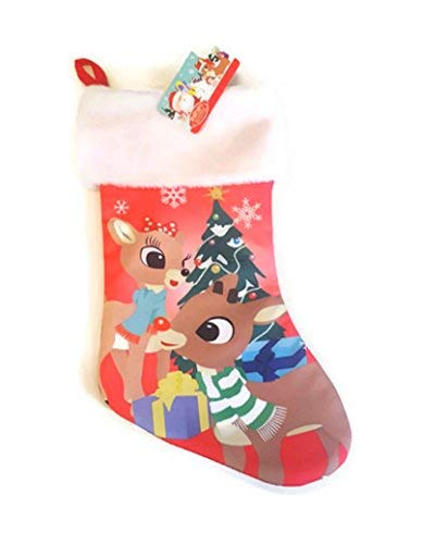 Rudolph The Red Nosed Reindeer & Clarice Christmas Stocking -
