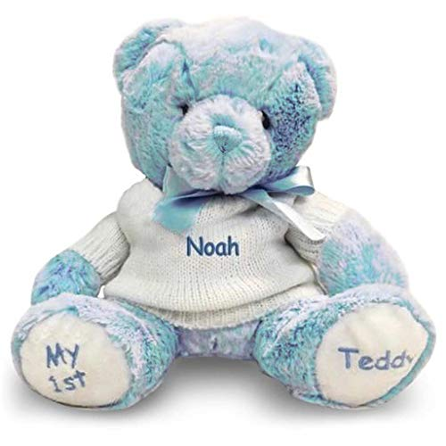 (Personalized Baby's First Teddy Bear (Blue))