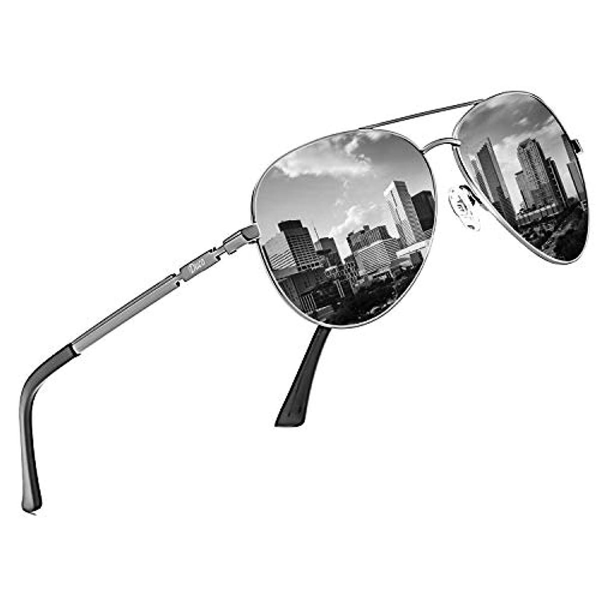 [해외] DUCO 맨즈 썬글라스 UV400 편광 썬글라스 아비에퍼터 T 아드로푸 썬글라스 고품질 유리 낚시 운전용 3025K