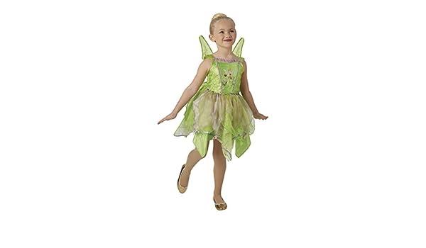 Peter Pan - Disfraz de hada Campanilla Premium para niña, infantil ...