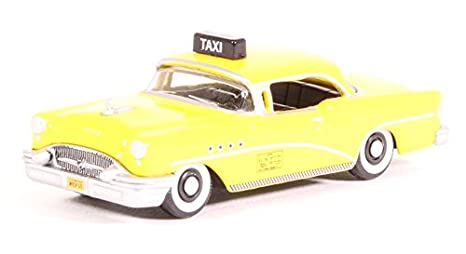 4fba663c9b362 Oxford Diecast 87BC55004 New York City Taxi 1955 Century 1:87 (HO) Scale  Diecast Model