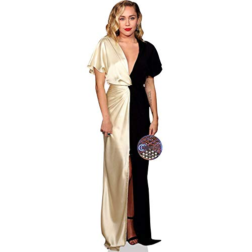 Miley Cyrus (Gold and Black Dress) Life Size - Miley Cyrus Proof