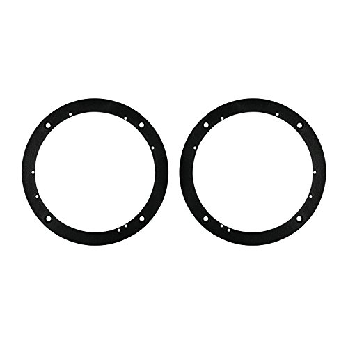 Metra 82-4400 Universal 1/2-Inch Plastic Spacer Rings for 6-1/2-Inch Speakers