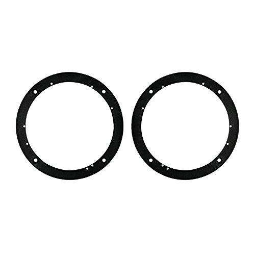 sal 1/2-Inch Plastic Spacer Rings for 6-1/2-Inch Speakers (Universal Speaker Spacers)