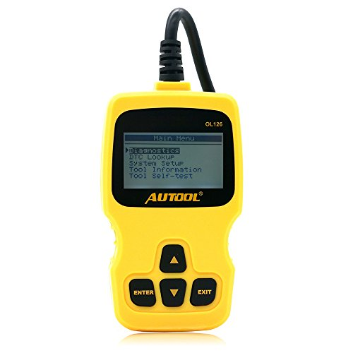 Fitiger AUTOOL OL126 OBD/EOBD+CAN Auto Engine Diagnostic Tool Supports OBDII Compliant Cars