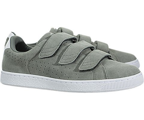 PUMA Men's Basket Classic Strap Agave Green 9.5 D US buy cheap original sneakernews for sale find great sale online IWCEhJ