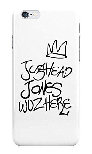 Jughead Jones Woz Here - Riverdale Phone Case - Hard Plastic, Snap On Cell Phone Cover - iPhone, iPod & Samsung - Fun Cases - Galaxy S8 (Jughead Jones)