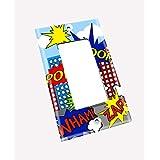 Super Hero Boys Kids Bedroom Baby Nursery Light Switch Cover LS0059 (Single Decora)