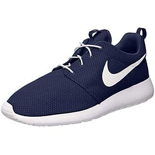 Nike Men's Roshe One Running Shoes, Obsidian/White, 11