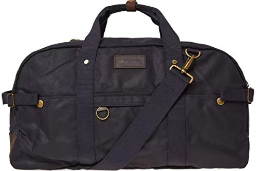 Barbour Gamefair Waxed Cotton Holdall Bag (Barbour Waxed Leather)