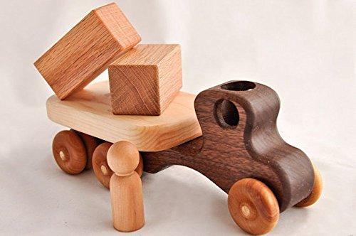 Handmade-Organic-Wood-Toy-Flatbed-in-Walnut