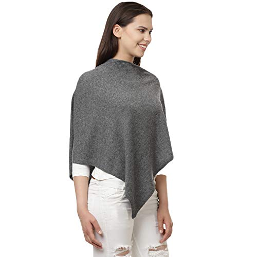 Cape Gris Femme Mayfair Poncho Cashmere EqxCwnI0S