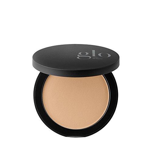 Glo Skin Beauty Pressed Base Mineral Pressed Powder Foundation, Matte Finish, Honey Medium