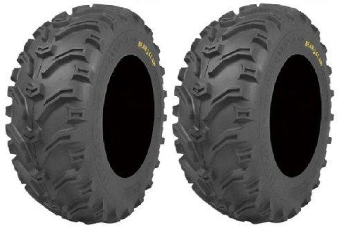 2 ATV Tires Pair of Kenda Bear Claw 25x8-12 6ply