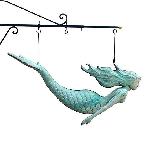 copper Mermaid trade SIGN nautical STUNNING best ()
