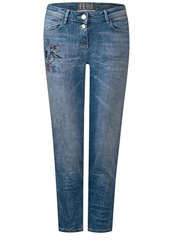 Wash Used Bleu Wash Used Cecil Authentic Jeans Blau W26 Authentic Femme q7wHTznH