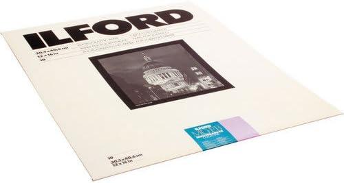 Glossy Ilford Multigrade FB Cooltone Black /& White Enlarging Paper 11x14 50 Sheets