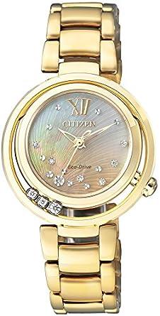 458b2e4a61 Amazon | [シチズン]CITIZEN 腕時計 CITIZEN L エコ・ドライブ EM0328-57P レディース | 国内メーカー | 腕時計  通販
