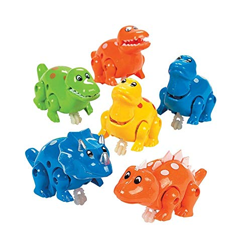 (Press & Go Dinosaurs - Novelty Toys & Spin Tops & Wind-Ups)