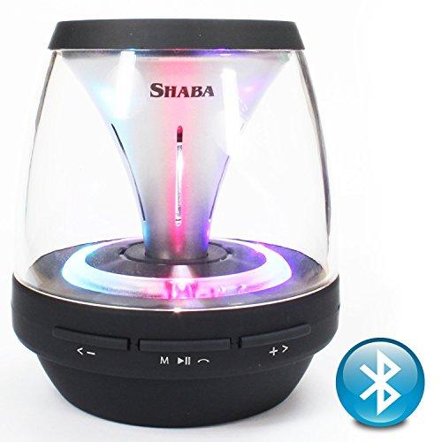 Shaba Vs-18 Portable Wireless Bluetooth Speaker Super Bass Build-in FM Radio,AUX,MIC,TF Card Slot(Black)