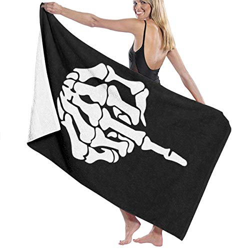 Uhjgjls to Erect A Fuck Finger Microfiber Sand Free Beach Towel Cloth - Quick Drying Super Absorbent Light Thin Bath Towel - Quick Drying Beach Towel Oversize Bodytight Blanket