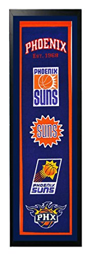 Encore Select 372-41 NBA Phoenix Suns Banner Frame, 14-Inch by 37-Inch