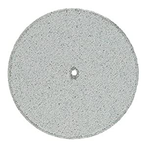 Pacific Abrasives SG-1S78 Square Edge. Porcelain and Zirconia course polisher light gray (Pack of 100)