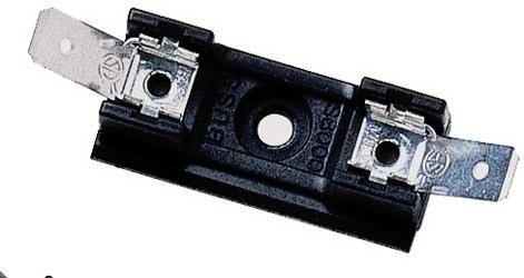 6.3 X 32MM 1 piece COOPER BUSSMANN BK//S-8202-1-R FUSE BLOCK BOLT-IN MOUNT