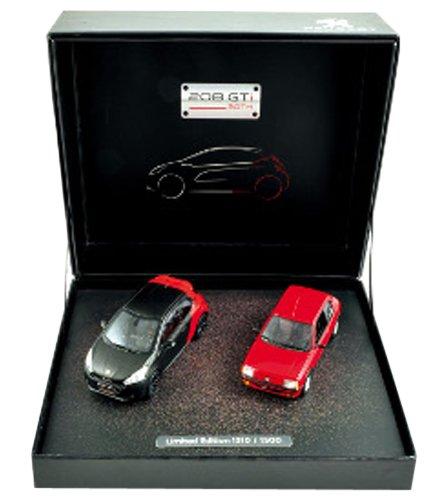1/43 プジョー 205 (ホワイト) & 208 GTi (グレー) 30周年記念 2台セット 限定版 472811