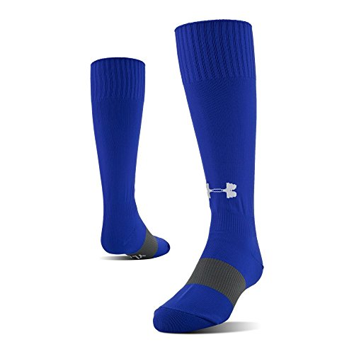 Under Armour Soccer Over The Calf Socks, 1-Pair, Royal, Shoe Size: Mens 12-16