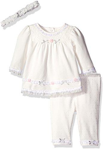 Little Me Baby Girls Dress and Legging Set