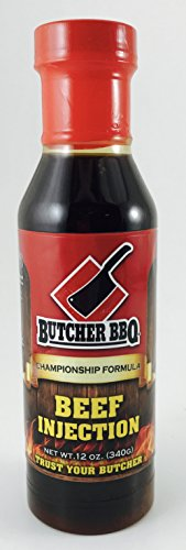 Butcher BBQ Liquid Brisket Injection Base Flavor Barbecue Seasoning Without MSG and Gluten
